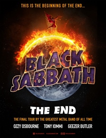 KONSERT Musik: BLACK SABBATH: The end of the end